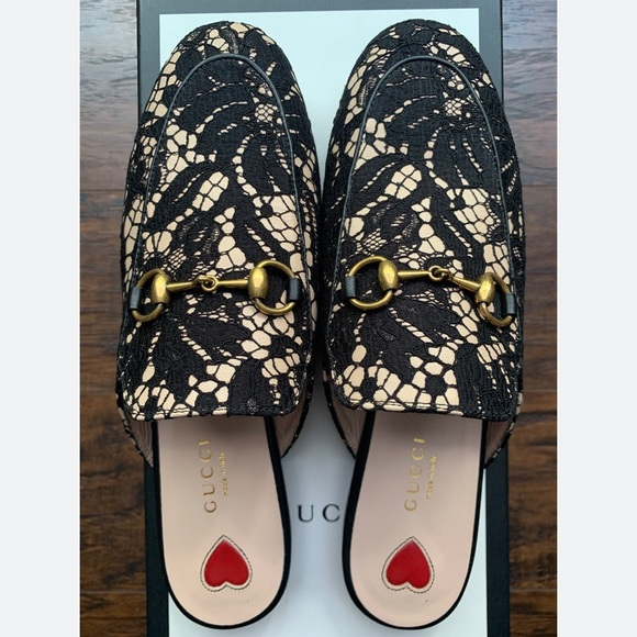 Gucci Shoes   Gucci Princetown Lace